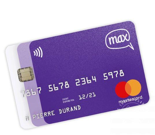 La Carte max : une carte bancaire gratuite, qui réunit toutes vos cartes en une !